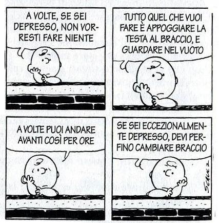 Peanuts Psicologo Torino Depressione