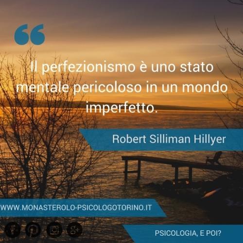 Perfezionismo Psicologo Torino Aforisma