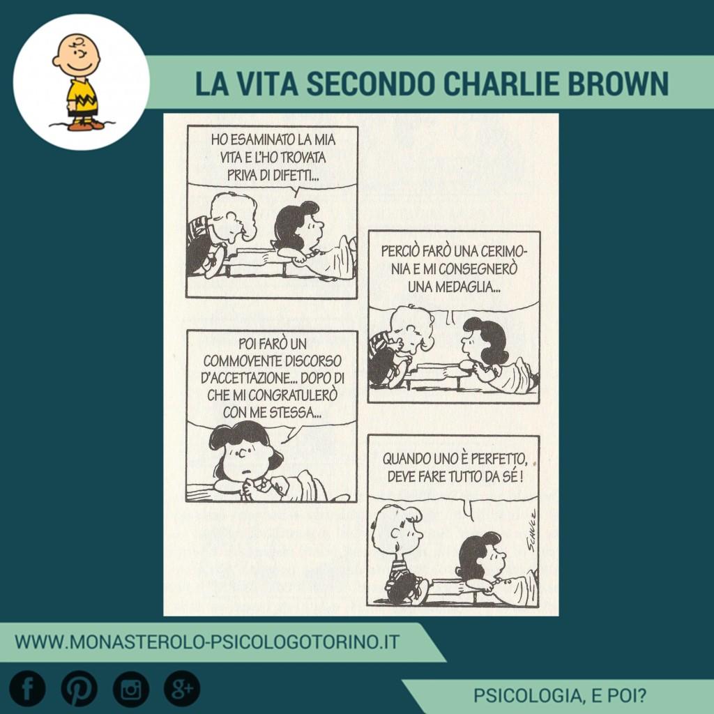 Charlie Brown Perfezionismo Psicologo Torino