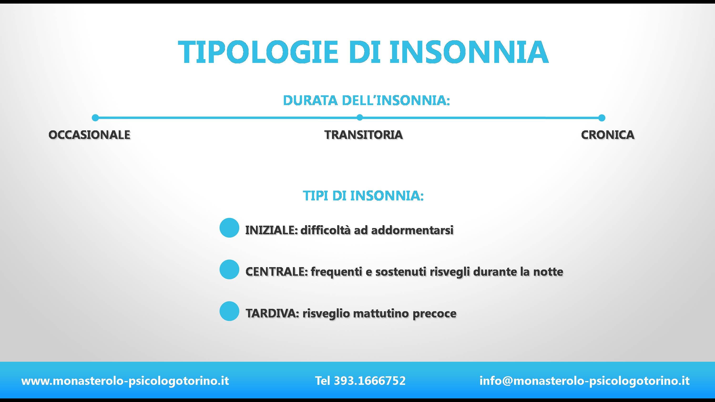 Tipi Insonnia Psicologo Torino