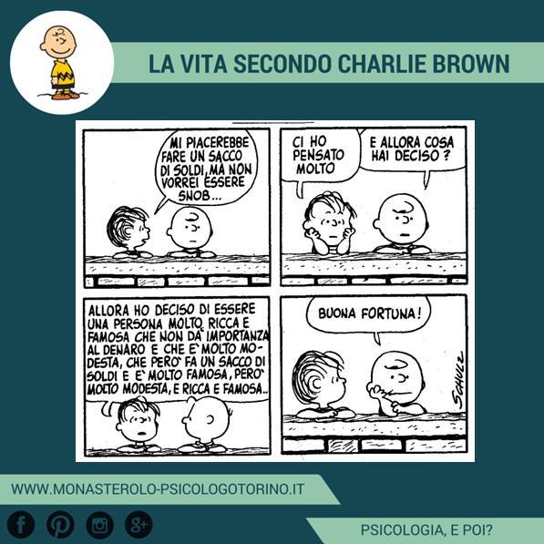 Psicologo Torino Propositi Charlie Brown