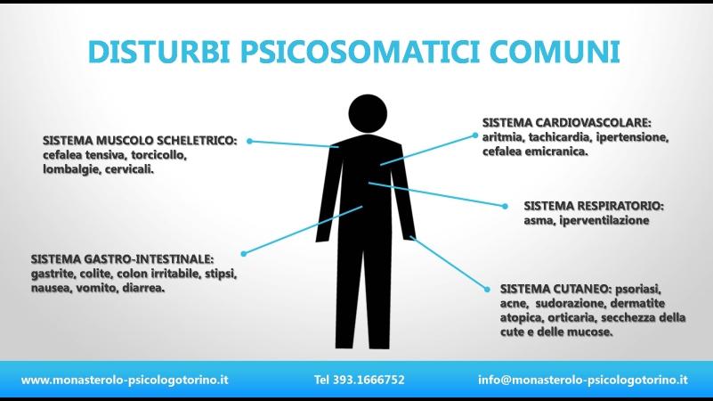 Malattie Psicosomatiche Psicologo Torino