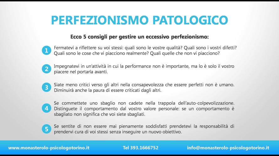 Perfezionismo Psicologo Torino