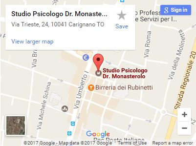 Studio Psicologo Dr. Monasterolo Carignano