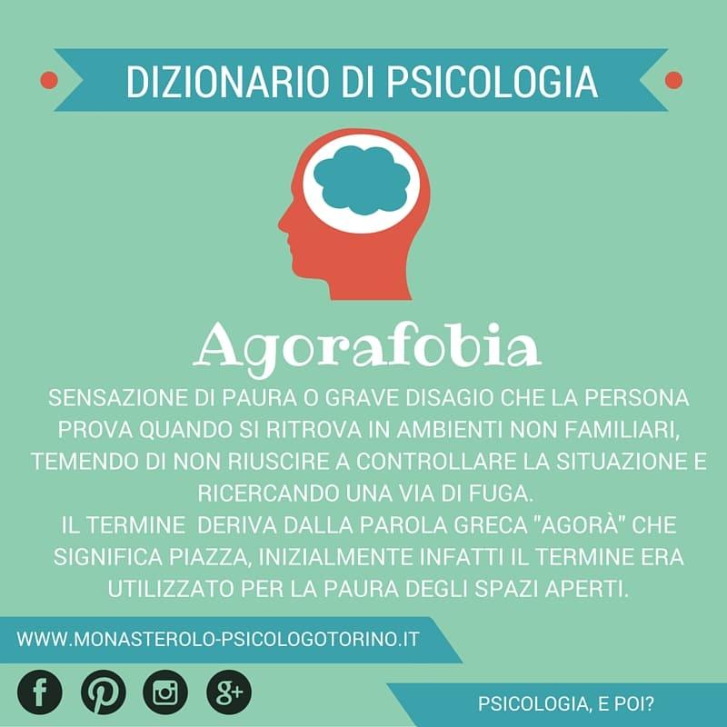 Dizionario di Psicologia Agorafobia - Psicologo Psicoterapeuta Torino
