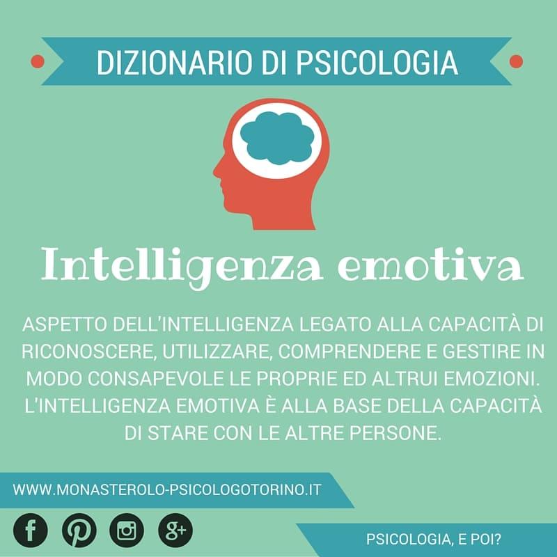 Dizionario di Psicologia Intelligenza Emotiva - Psicologo Psicoterapeuta Torino