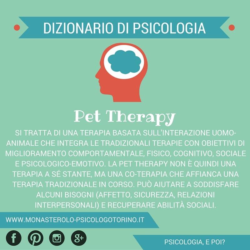 Dizionario di Psicologia Pet Therapy - Psicologo Psicoterapeuta Torino