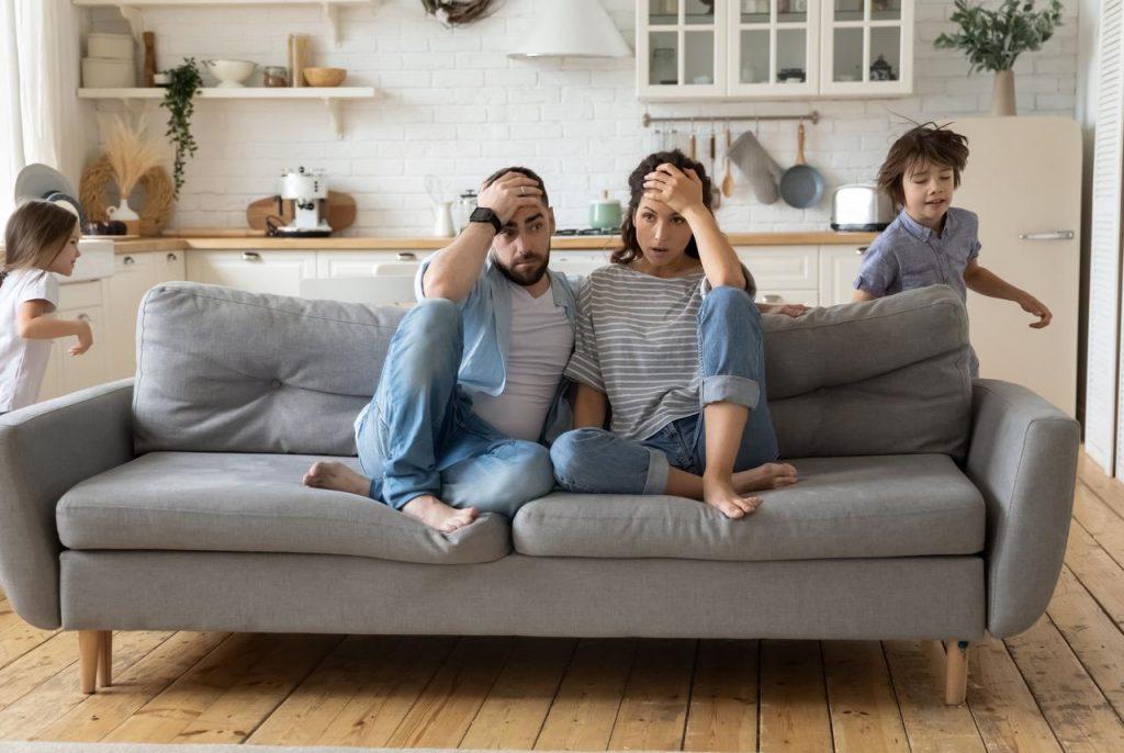 Famiglia stressante