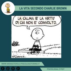 Charlie Brown: La calma è la virtù di chi non è coinvolto
