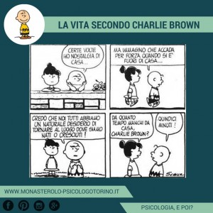 Charlie Brown: Nostalgia di casa